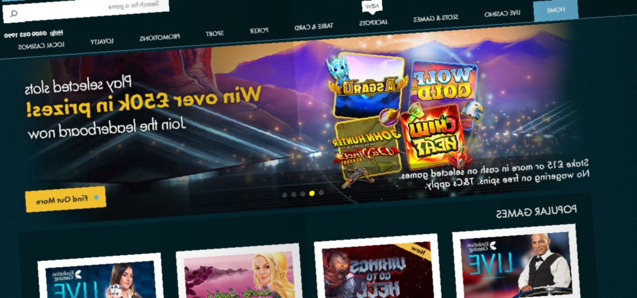 Grosvenor Online Casino Review