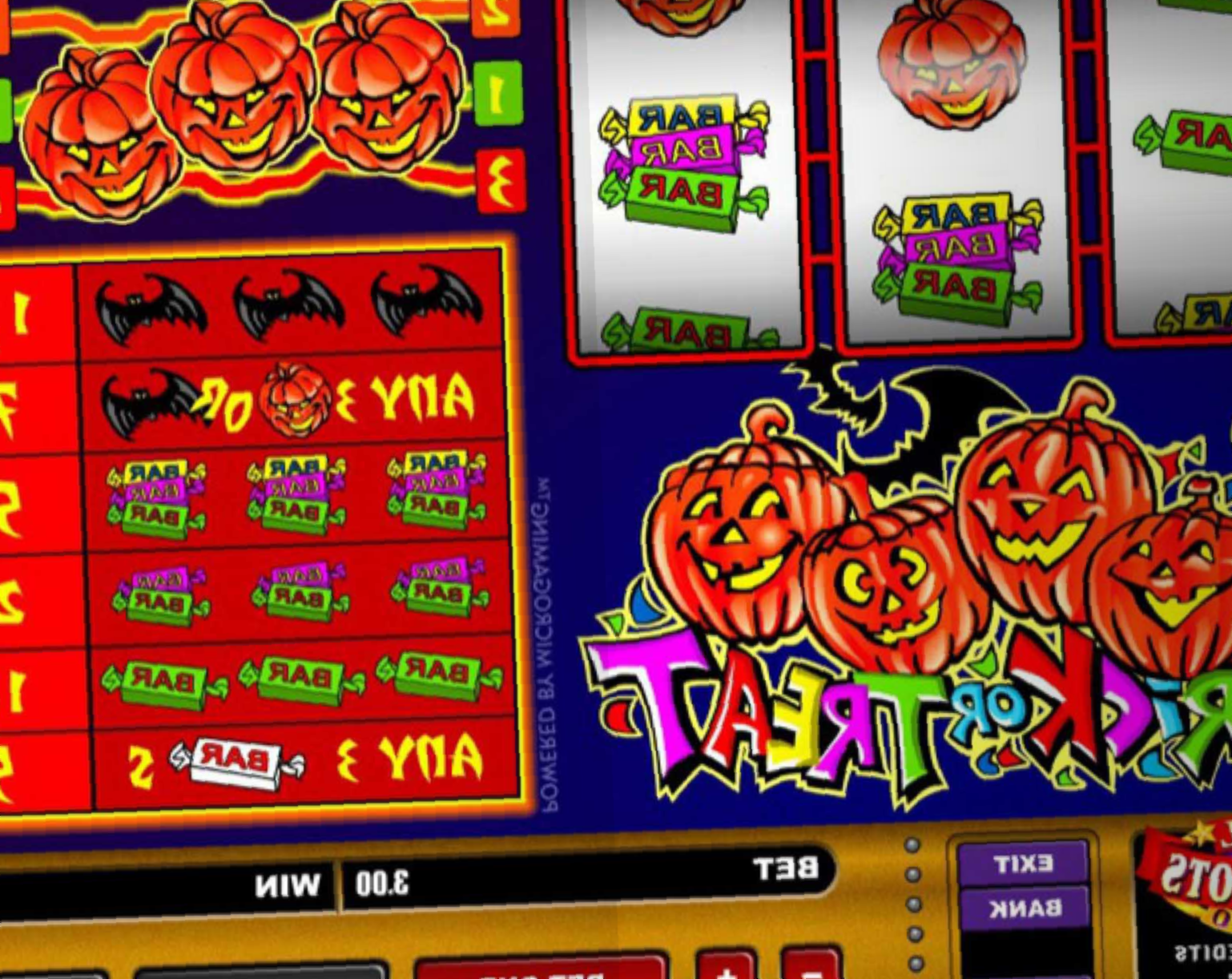 Trick Or Treat By Microgaming